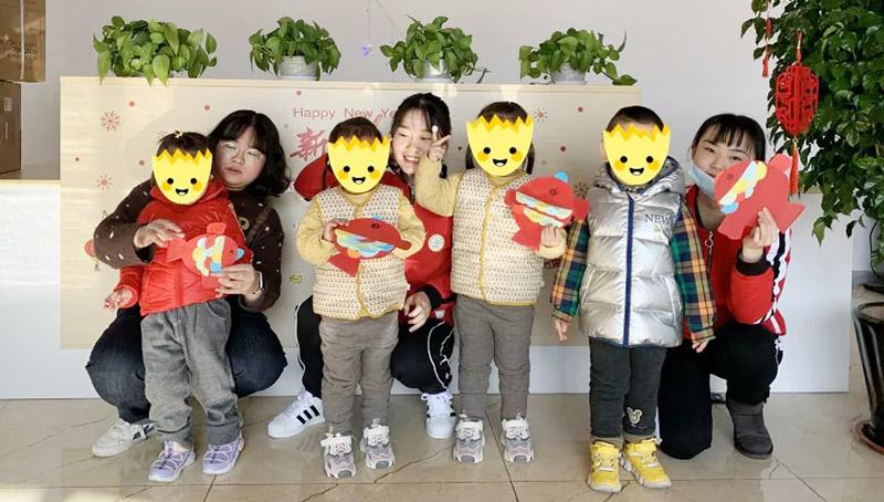 特教+普教一起过元旦,包水饺、做手工…青岛融合教育这个新年过得有点牛!